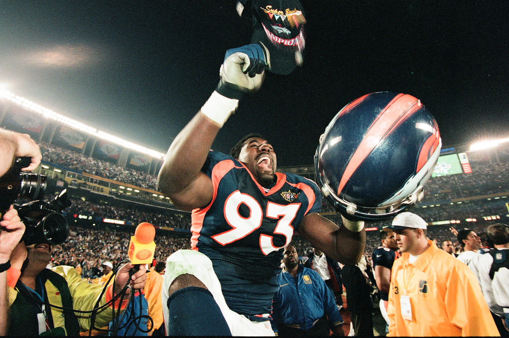 . Super Bowl XXXII - Denver Broncos vs Green Bay Packers on January 25, 1998. John Elway and the Broncos beat the Packers 31-24. (Denver Post file photo)