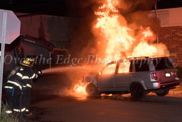 Westbury Car Fire 08/09/2019