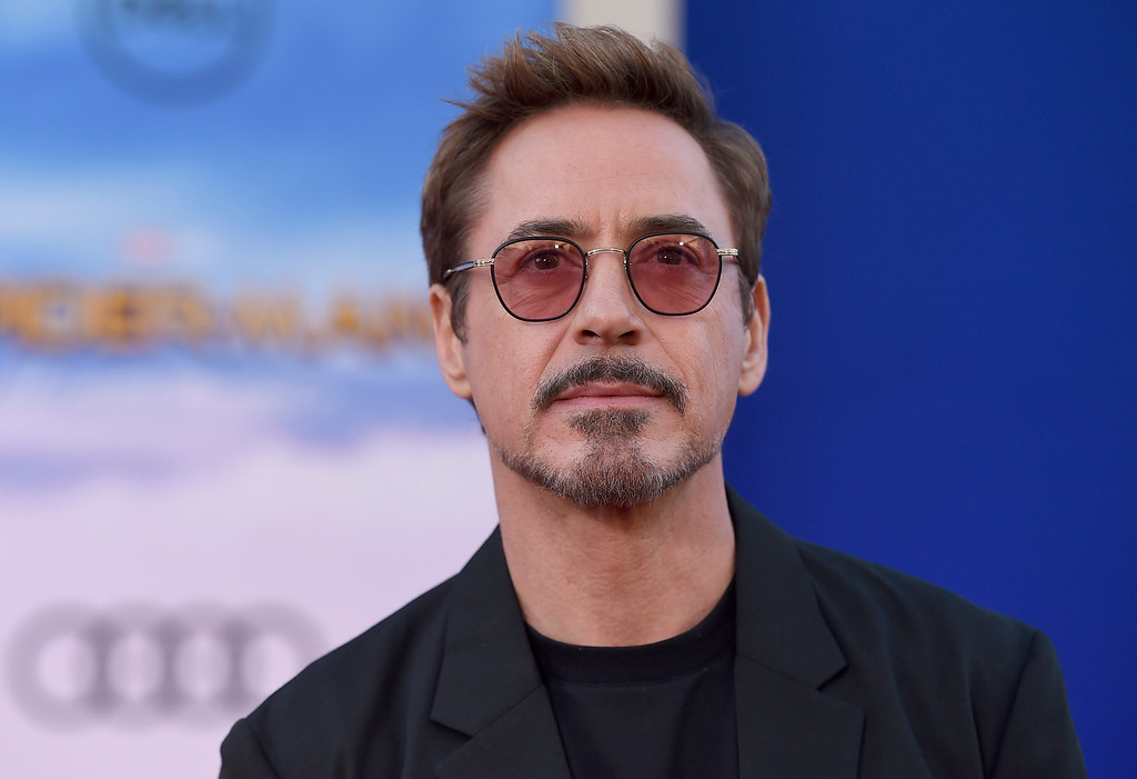 """. Robert Downey Jr. arrives at the Los Angeles premiere of \""""Spider-Man: Homecoming\"""" at the TCL Chinese Theatre on Wednesday, June 28, 2017. (Photo by Jordan Strauss/Invision/AP)"""