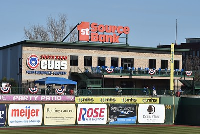 South Bend Cubs vs West Michigan White Caps  4-08-17