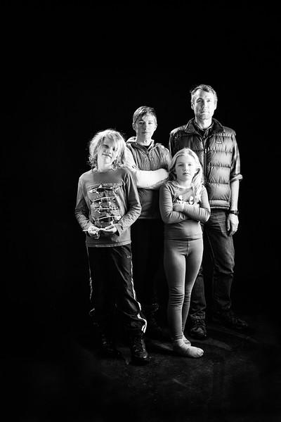 Amy, Doug, Eleanor, and Owen (briefly)