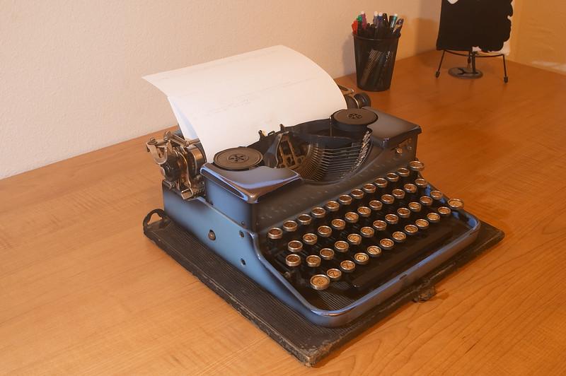 Royal Portable typewriter, manufactured in 1932