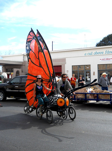 MONARCH BUTTERFLY BIKE There we go.
