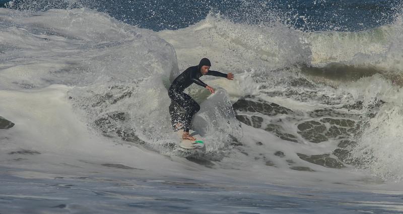 Sliding through the Foam