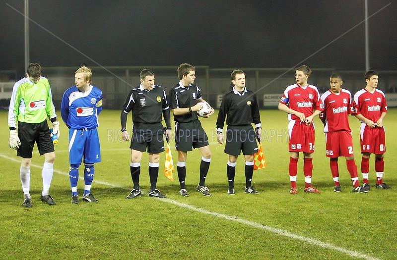Chippenham Town V Swindon Town Wiltshire Premier Shield semi-final