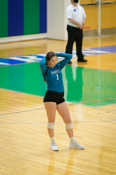 2021-04-16 Hickory vs Princess Anne Girls Volleyball