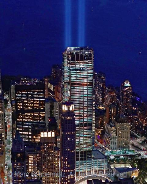 Remembering September 11; Doorsoff Helicopter.