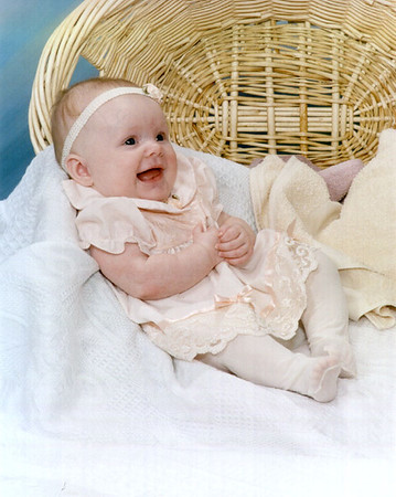 These portraits where taken when Ilia was about four months old.