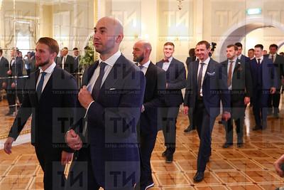 30.05.2018  Торжественный приём ХК Ак Барс в Кремле (Ильнар Тухбатов)
