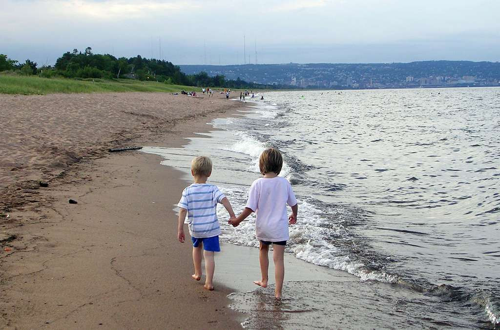 . Must take the kids to the North Shore so they can search for agates and dip their toes in the freezing Lake Superior water. <p>-- By food writer Jess Fleming <p>-- Photo by Jen Westpfahl, Pioneer Press