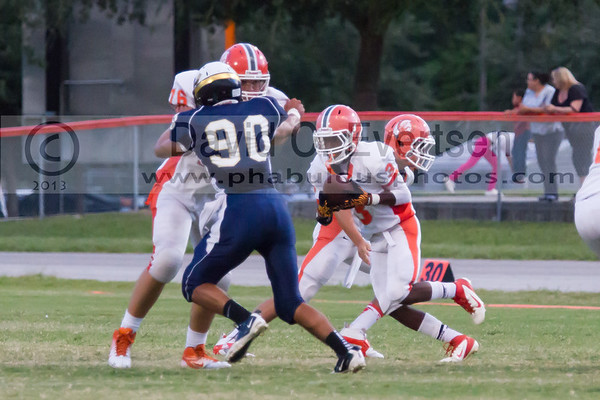 Boone Junior Varsity Football #76 - 2013