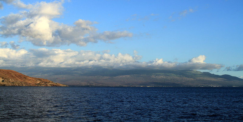 Kihei and Wailea views from the ocean