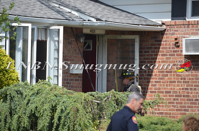 Wantagh F.D. Basement Fire 4031 Bayberry Ln. 5-13-13