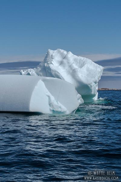 Iceberg 4 Very Close    Photography by Wayne Heim