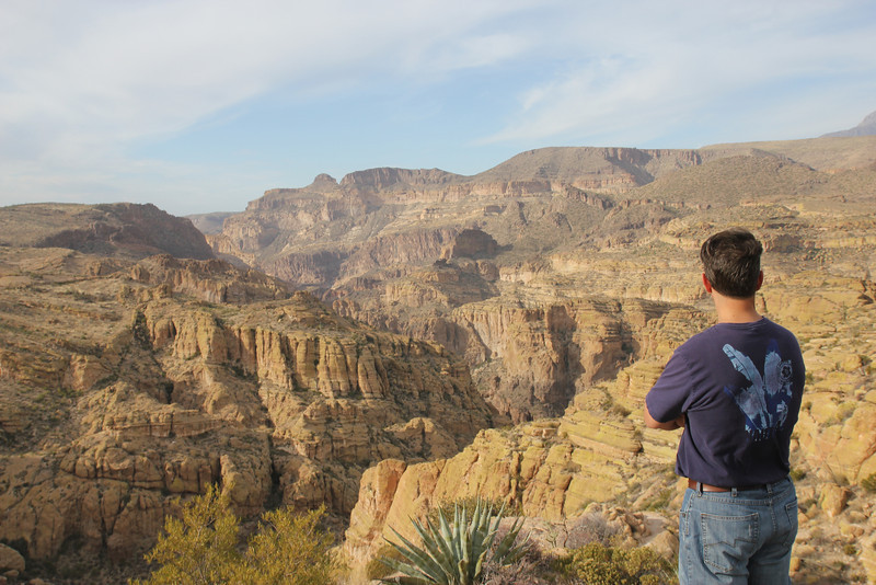 Apache Trail -  It was named the Apache Trail after the Apache Indians who originally used it.