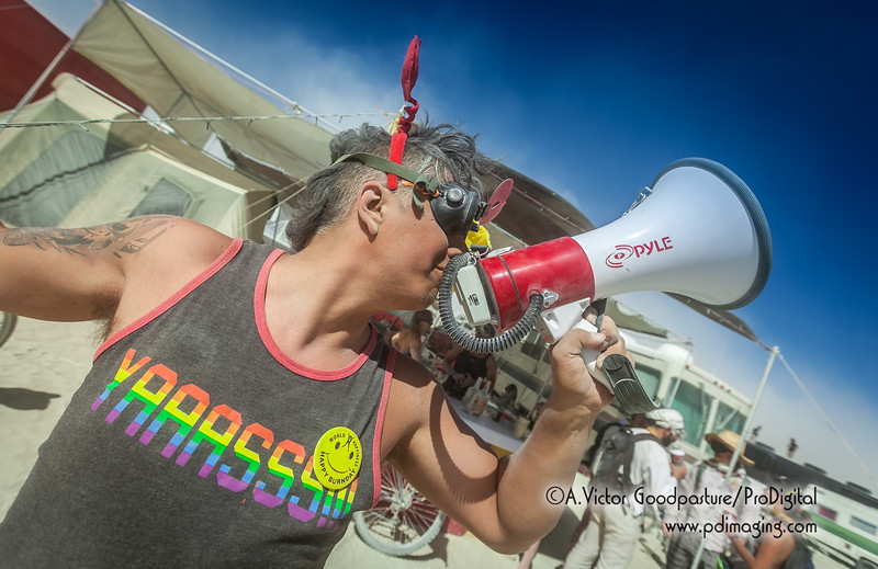 Burning Man may be the only place in the universe where camps are begging people to come have a free drink.