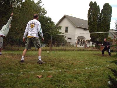 Badminton Doubles Fall 2011