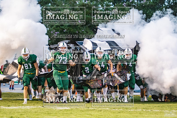 Ben Lippen Varsity Football vs Hammond 2020