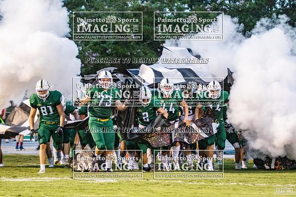 Ben Lippen Varsity Football vs Hammond 2020