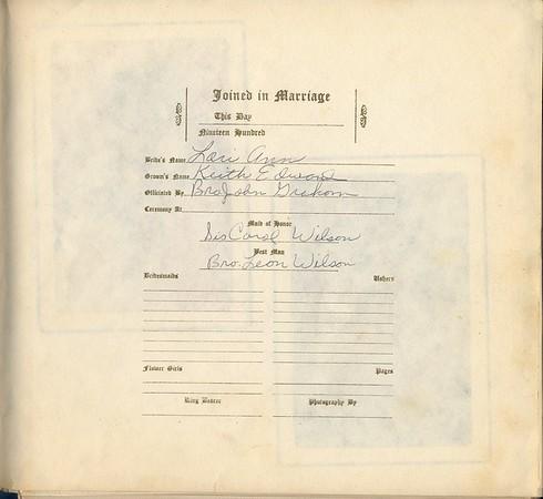 1980-6-7 My Son's Wedding