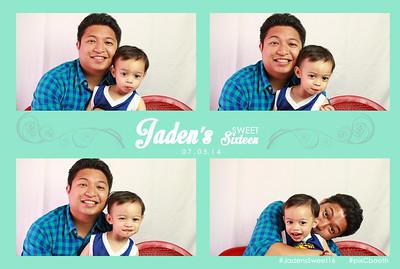 7-5-2014 Jaden's Sweet Sixteen