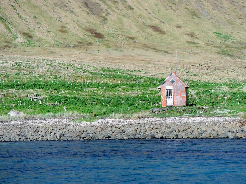 Aðalvík - Sæból. Neyðarskýlið 2013.