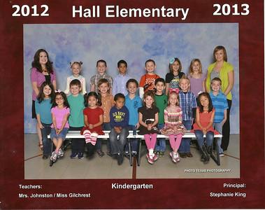 2012-2013 Emily Kindergarten Class Photo