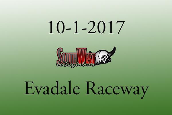 10-1-2017 Evadale Raceway 'Southwest Jr. Dragsters'