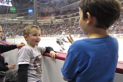 12-08 Stampede practice - Chanukkah - Hockey