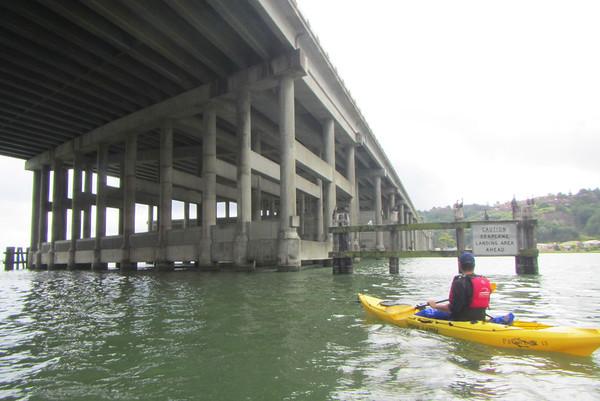 Sausalito Kayaking: Mar 22, 2015