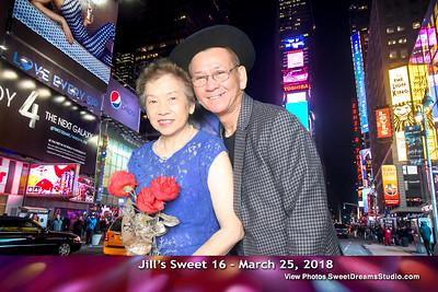 Jill's Sweet 16