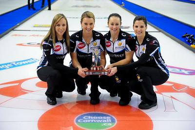 2020 Curling Cornwall Women Champions