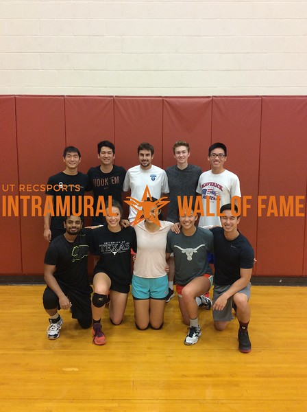 Fall 2016 Volleyball Coed A Runner Up_Bumpin' Uglies