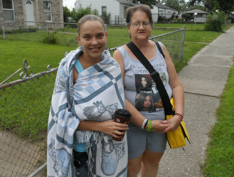 Michael Jackson fans Rebecca and Mary Singer say the singer would have loved what The Fuller Center is doing on Jackson Street, where he grew up in the 1960s.