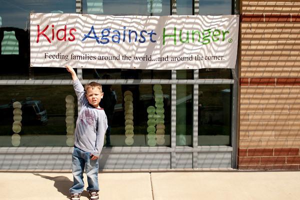 Kids Against Hunger, April 16, 2011