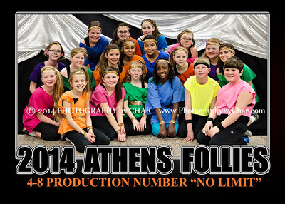 2014 Athens Follies Group Portraits