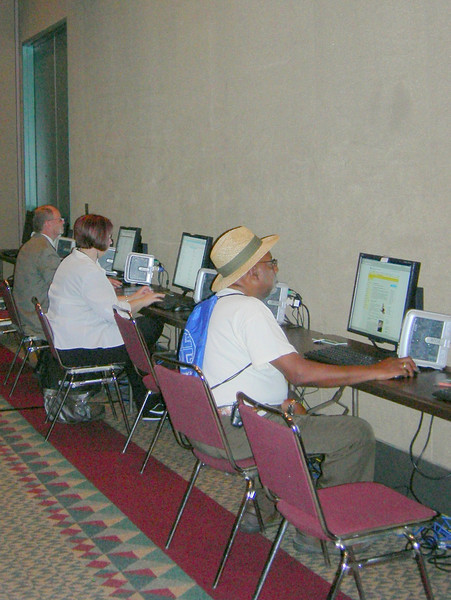 Attendees to the assembly are invited to use computers at the assembly Email Center.