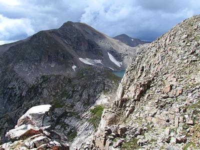 St Mary's Glacier to James Peak 2013