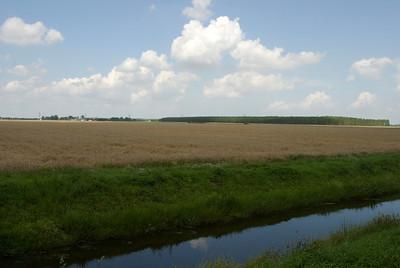 Grootse vergezichten met sterke luchten kenmerken het Groninger Platteland