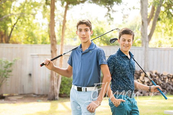 09.22.19 Joshua and Jacob Schildcrout Golf