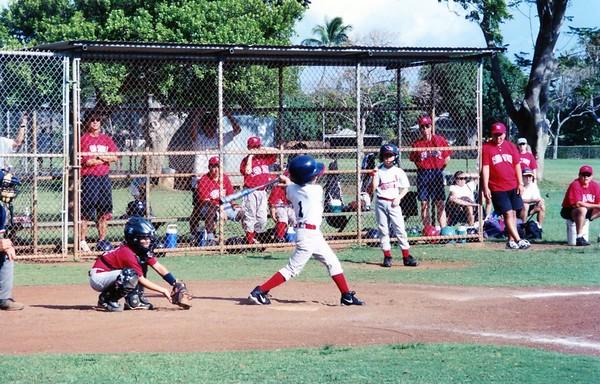 2002 - 03 - 29 - Kevin Cardinal Baseball Game