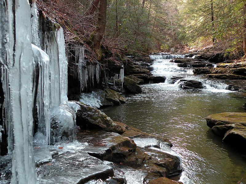 Uppermost cascade we found.
