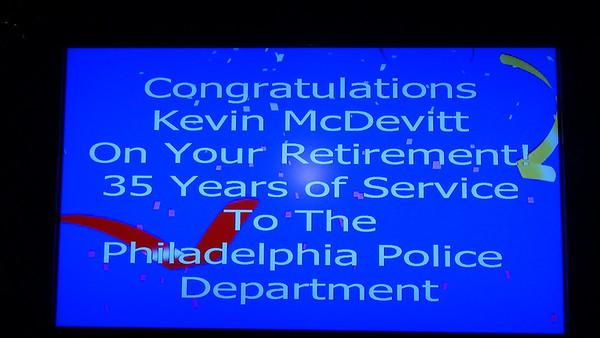 McDevitt Retirement Party