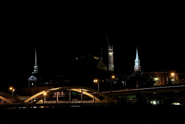AG8a After Dark Around Cumberland Maryland