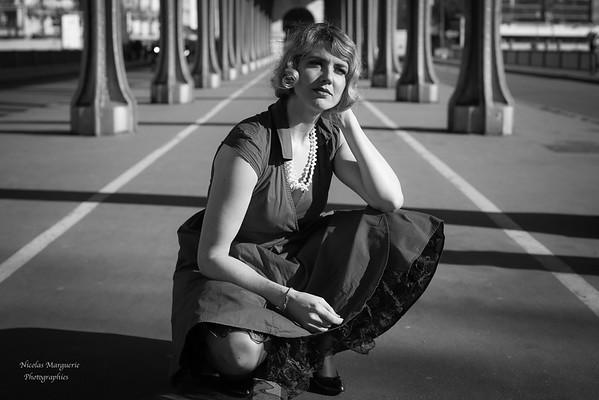 Charlotte H, Passage au Pont Bir-Hekeim