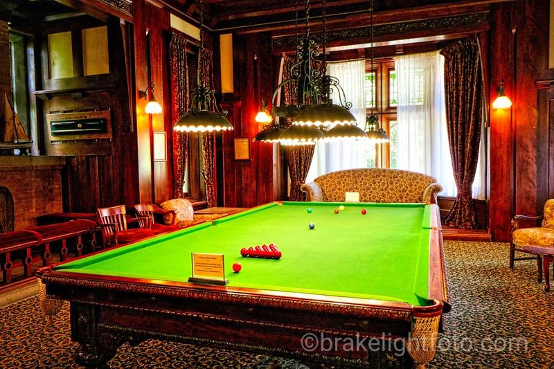 Hatley Castle Billiards Room