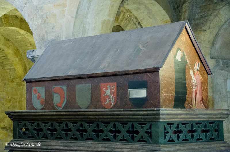 The tomb of Vratislaus I of Bohemia at Prague Castle
