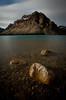 """Rocky Mountain Stillness"" III, Bow Lake, Banff National Park, Alberta, Canada."