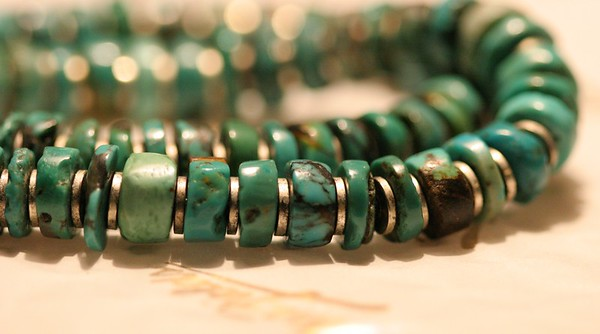 Toni Mckeel Designs<br /> Turquoise Bracelet
