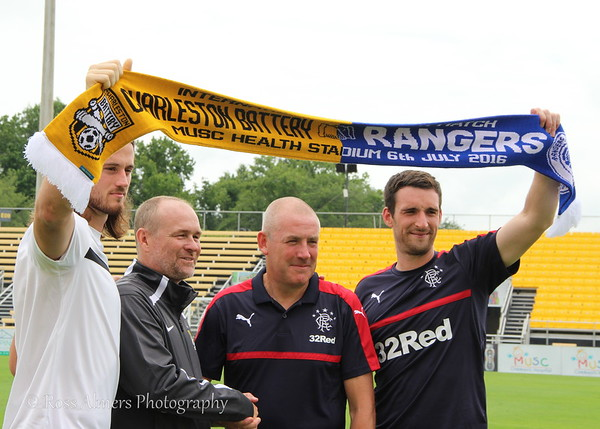 Rangers FC Come To Charleston
